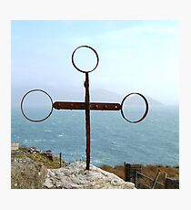 Iron Cross - Cill Railiag, Co Kerry, Eire Photographic Print