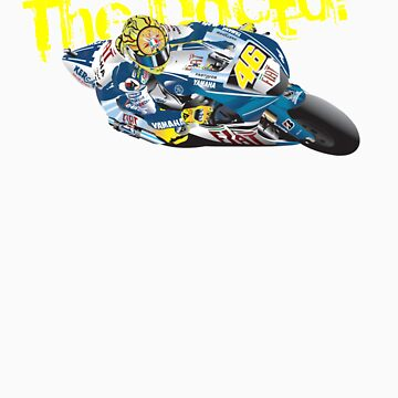 The Doctor. Valentino Rossi by rabble