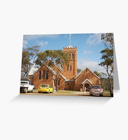 historyscapes #138, trinity Greeting Card