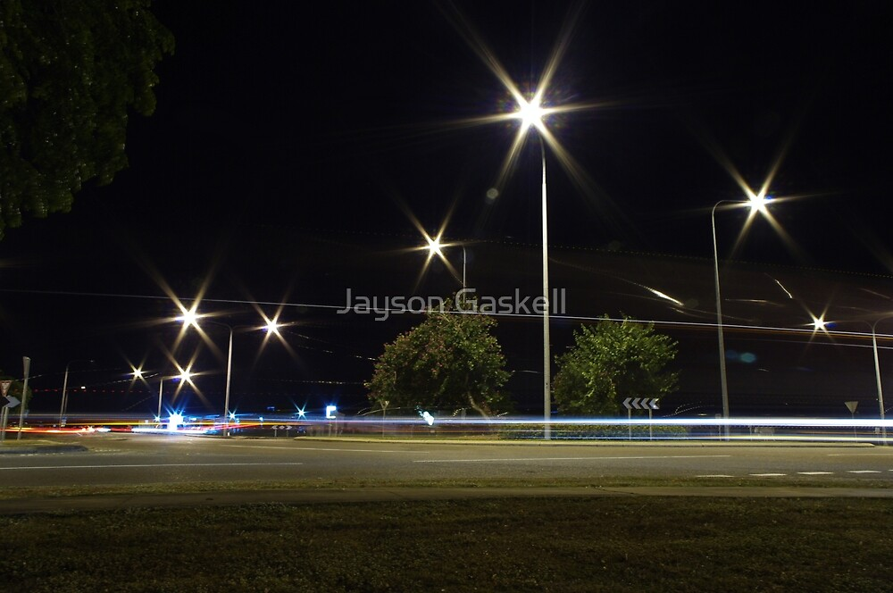 The roundabout  by Jayson Gaskell