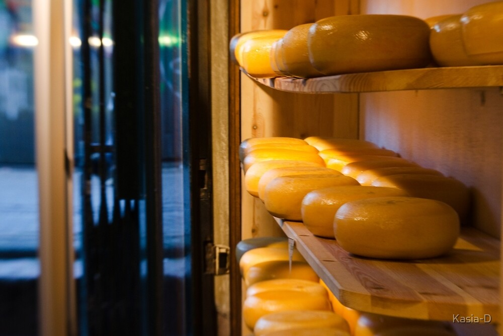 Amsterdam: Cheese by Kasia-D