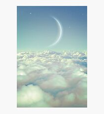 Dream Above The Clouds Photographic Print