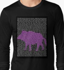 """The Year Of The Pig / Boar"" Clothing Long Sleeve T-Shirt"