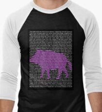 """The Year Of The Pig / Boar"" Clothing Men's Baseball ¾ T-Shirt"