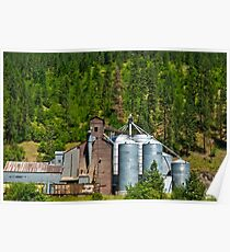Clearwater River Grain Growers, Idaho Poster