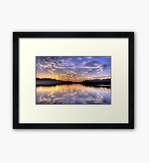 Lavender - Narrabeen Lakes, Sydney Australia - The HDR Experience Framed Print