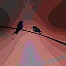 Love Birds 3 by Lenore Senior