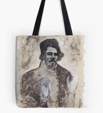 Delacroix's Portrait Tote Bag