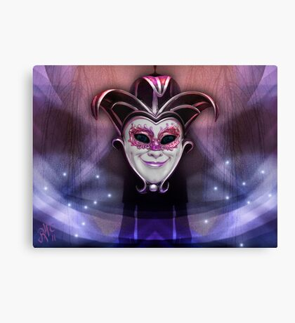 The Joker´s Dream Canvas Print