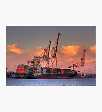 Fremantle Harbour Photographic Print
