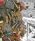 Locks of Love - Lecce Italy by Debbie Pinard