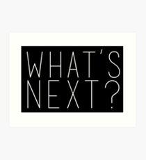 Lámina artística ¿Que sigue? Jed Bartlet West Wing Quote