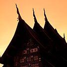 Wat Silhouette by Kerry Dunstone