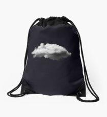 WAITING MAGRITTE Drawstring Bag