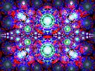 Three Layer Blender #7:  Diamonds Are... abstract(UF0374)  by barrowda