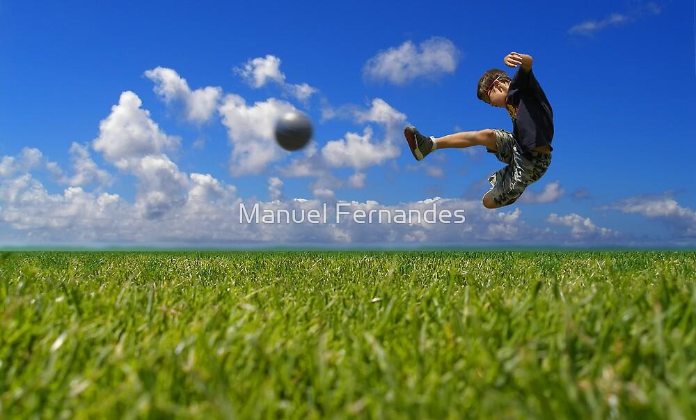 Soccer Player by Manuel Fernandes
