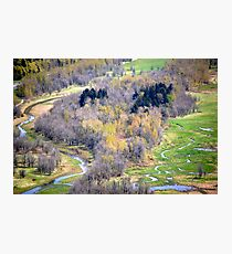 """""""One view from Crown Point, Oregon"""" Photographic Print"""