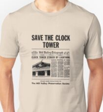 Back to the future - Save the clock tower ! Unisex T-Shirt