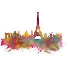 Paris skyline by JBJart