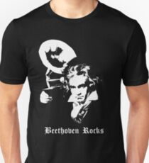 Beethoven Rocks! Unisex T-Shirt