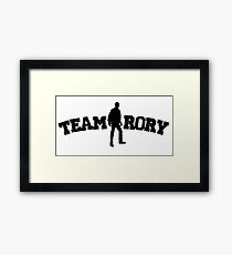 Team Rory Doctor Who  Framed Print