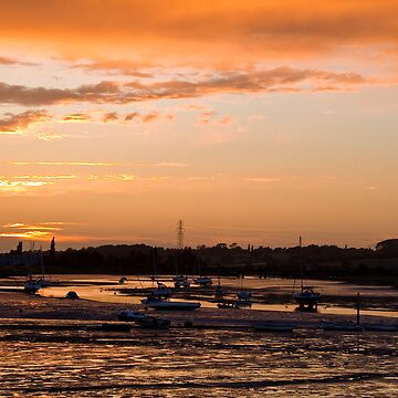 Manningtree sun Set by 6two1