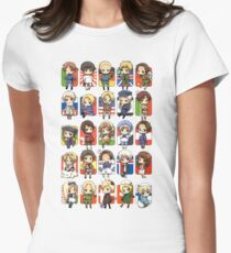 Hetalia Group Women's Fitted T-Shirt