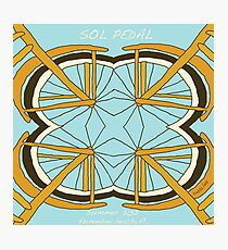 Sol Pedal  Photographic Print