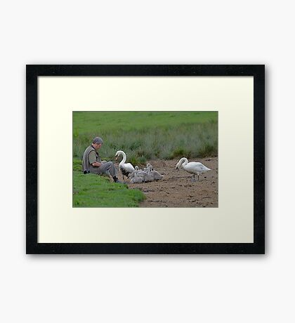 Want Me To Do That Dougie??? Framed Print