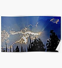 Late Afternoon Sky: SoCal Poster