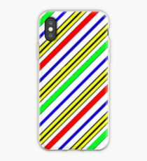 Colorful stripes  iPhone Case