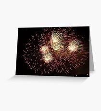 Joyful Fireworks! Greeting Card
