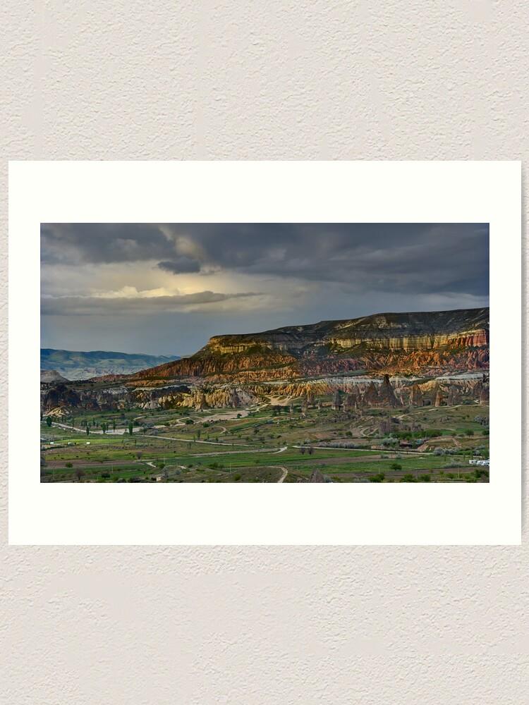Alternate view of Red Hills, Cappadocia Art Print