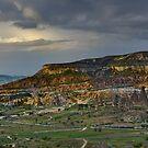 Red Hills, Cappadocia by Peter Hammer