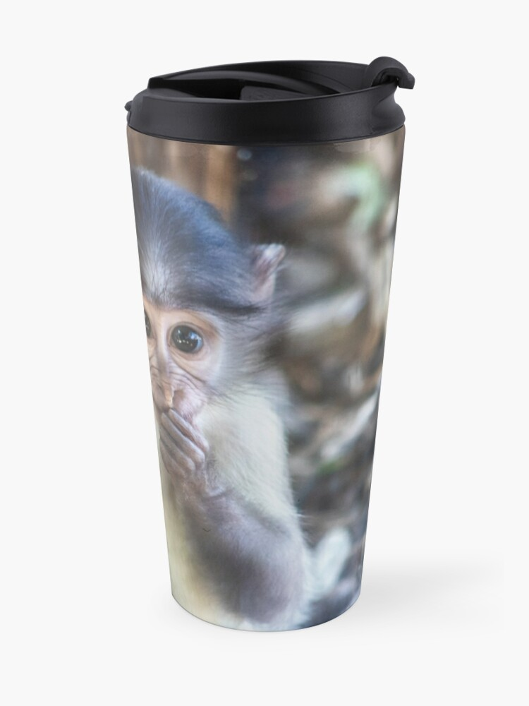 Alternate view of Macaca mulatta Travel Mug
