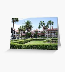 Ponce De Leon Hotel Greeting Card