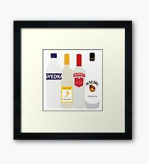 Alc Cartoon Framed Print