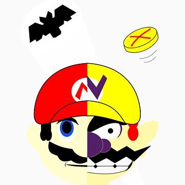 Mario Two Face Dent by apalooza