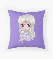 Lady Amalthea Chibi  Throw Pillow