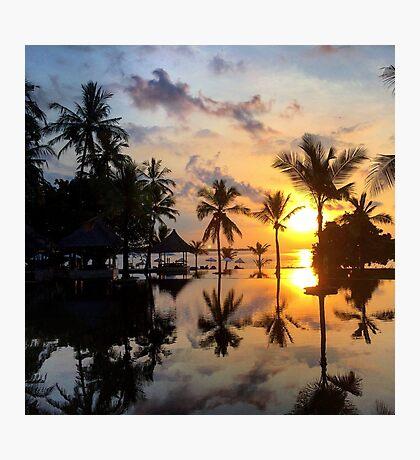 Indonesian Sunset Photographic Print