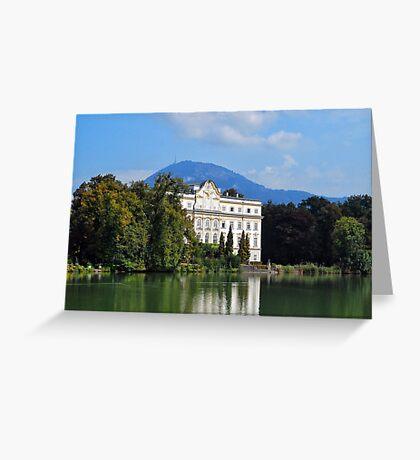 The Von Trapp Villa Greeting Card