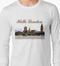Beautiful London Bigben& Thames river T-Shirt