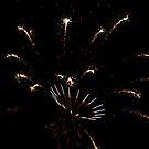 4th of July Fireworks II by Eileen Brymer