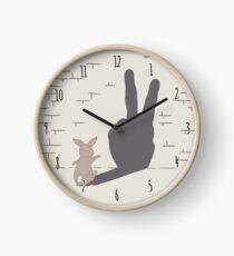 Peace Bunny Clock