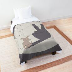 Peace Bunny Comforter