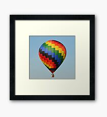 A Beautiful Hot Air Balloon Framed Print