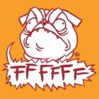 Mad Dogs: FFFFFF Pug by katmomma