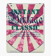 Instant vintage classic iPad Case/Skin