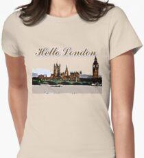 Beautiful London Bigben& Thames river art T-Shirt