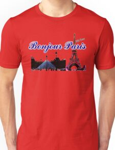 Beautiful  Luvoure museum ,Effel tower Paris france graphic art Unisex T-Shirt
